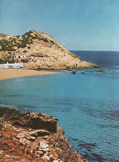 The island of Minorca